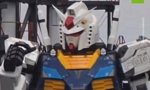 Clip Nhật chế tạo rô bốt khổng lồ biết cử động giống phim hoạt hình