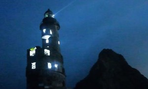 Clip thắp sáng hải đăng chạy bằng năng lượng hạt nhân