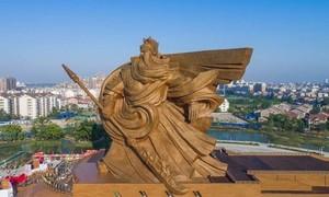 Trung Quốc chi gần 24 triệu USD để dời tượng Quan Vũ
