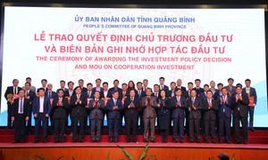 Gần 140.000 tỷ đồng sẽ được đầu tư vào Quảng Bình