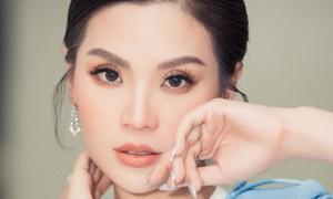 Á hậu Diễm Trang trở lại công việc sau 9 tháng mắc kẹt ở nước ngoài