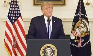 Trump chính thức nhận thua, úp mở khả năng tái tranh cử