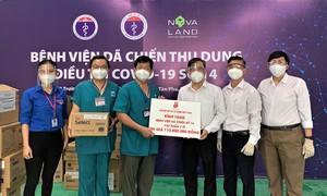 Saigon Co.op trao tặng vật phẩm y tế cho tuyến đầu chống dịch