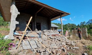 Động đất mạnh ở đảo du lịch Bali khiến nhiều người thương vong