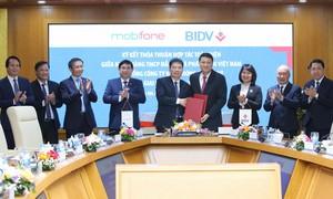 BIDV và MobiFone ký kết hợp tác toàn diện giai đoạn 2021-2026