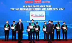 HD SAISON được vinh danh 'Thương hiệu mạnh' Việt Nam