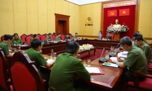 Họp về Đề án Chiến lược xây dựng và hoàn thiện Nhà nước pháp quyền XHCN