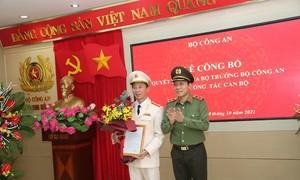 Đại tá Vũ Hoài Bắc giữ chức Cục trưởng Cục An ninh điều tra, Bộ Công an