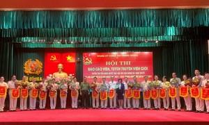 Đảng uỷ CATW tổ chức hội thi Báo cáo viên, tuyên truyền giỏi