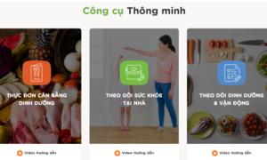 Phần mềm xây dựng thực đơn tiện ích từ Bộ Y tế dành cho mẹ và bé