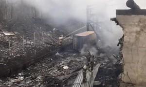 Nổ nhà máy sản xuất vật liệu nổ ở Nga, ít nhất 17 người chết