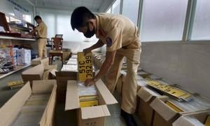 TPHCM: Hơn 50.000 xe kinh doanh vận tải chưa đổi biển số vàng