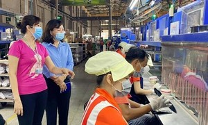 Bình Dương: Công nhân quay lại làm việc sau Tết đạt gần 75%