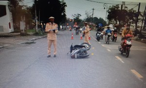 Truy tìm người chạy xe SH liên quan tai nạn chết người rồi bỏ chạy