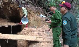 Đà Nẵng sẽ dùng thuốc nổ đánh sập 21 hầm vàng