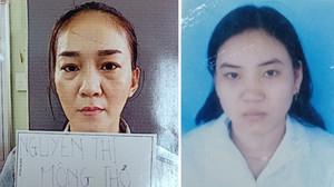 Truy nã hai chị em Nguyễn Thị Mộng Thơ và Nguyễn Thị Xuân Hiền