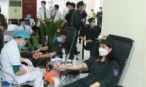 Bộ Tư lệnh Cảnh sát cơ động phát động hiến máu tình nguyện
