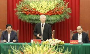 Nhân dân phấn khởi, tin tưởng vào thành công Đại hội, vào sự lãnh đạo của Đảng