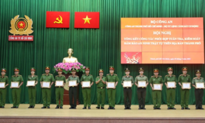 Bộ Tư lệnh CSCĐ và Công an TPHCM: Phối hợp tốt trong bảo đảm ANTT