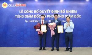 Vietbank bổ nhiệm ông Lê Huy Dũng giữ chức vụ Tổng giám đốc