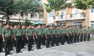 Bộ Tư lệnh Cảnh vệ phát động đợt thi đua đặc biệt 180 ngày đêm