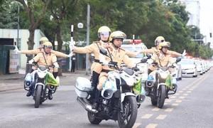 Cục CSGT ra quân bảo vệ lễ 30/4 và 1/5 và cuộc bầu cử