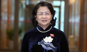 Miễn nhiệm chức vụ Phó Chủ tịch nước đối với bà Đặng Thị Ngọc Thịnh