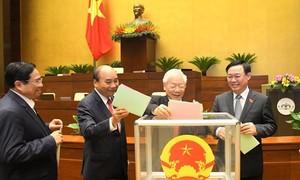 Đề cử nhân sự Tổng thư ký và một số Chủ nhiệm Uỷ ban của Quốc hội
