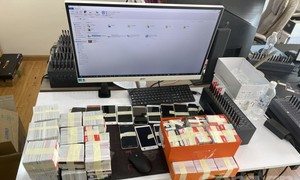 Phá đường dây phát tán hàng trăm triệu tin nhắn rác, thu lợi nhiều tỷ đồng