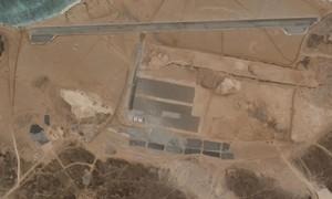 Căn cứ không quân xây bí ẩn ngoài khơi Yemen làm dấy lên đồn đoán