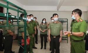 Chuẩn bị tốt khu cách ly phòng chống dịch bệnh Covid-19 cho CBCS Công an