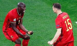 Lukaku lập cú đúp giúp Bỉ thắng 3-0 ở trận ra quân Euro