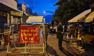 Phong tỏa một số vùng thuộc xã Tân Hiệp, huyện Hóc Môn từ 0 giờ ngày 20/6