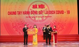 Tập đoàn Sun Group ủng hộ TP.Hà Nội 55 tỷ đồng mua vắc-xin