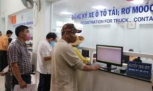 Phòng CSGT Công an TPHCM tạm ngừng nhận hồ sơ đăng ký mới các phương tiện