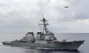 Mỹ điều tàu khu trục qua eo biển Đài Loan, Bắc Kinh phản ứng