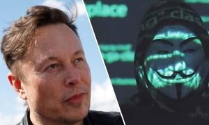 Nhóm tin tặc khét tiếng Anonymous 'tuyên chiến' Elon Musk