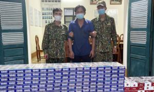 """Biên giới Tây Nam: Thuốc lá lậu vẫn """"nóng"""" giữa mùa dịch"""