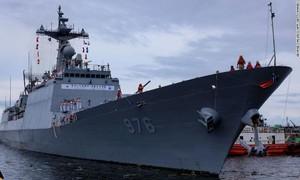 Hơn 80% thủy thủ trên tàu khu trục Hàn Quốc dương tính Covid-19