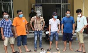 9 người tụ tập ăn nhậu mùa dịch bị phạt 120 triệu đồng