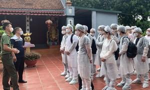 20 người Trung Quốc nhập cảnh trái phép, lưu thú tại một nhà dân