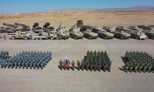 Video hơn 10.000 lính Nga - Trung diễn tập quân sự quy mô lớn