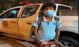 Thiếu niên đạp xe từ Bà Rịa – Vũng Tàu lên TPHCM, được Công an đưa về nhà