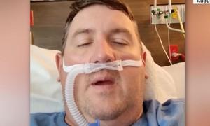 Người nhiễm Covid-19 phải thở máy hối hận khi không tiêm vaccine