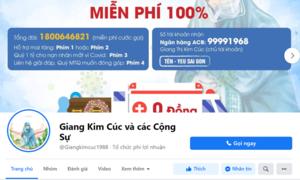 """Phạt chủ fanpage """"Giang Kim Cúc và các Cộng Sự"""" vì đăng tin sai sự thật"""