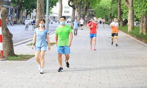 """Xem xét cho hoạt động thể dục thể thao tại các công viên thuộc """"vùng xanh"""""""