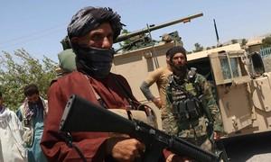 IS nhận trách nhiệm vụ tấn công khiến nhiều lính Taliban thiệt mạng