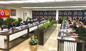 Tăng cường hợp tác giữa Bộ Công an Việt Nam và Bộ Nội vụ Cuba