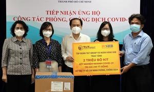 Tặng TPHCM  2 triệu bộ kit xét nghiệm nhanh Covid-19