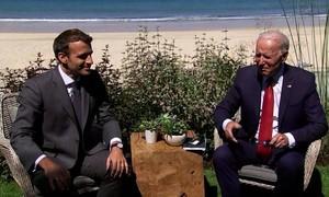 Tổng thống Mỹ - Pháp lần đầu điện đàm sau khủng hoảng ngoại giao